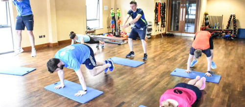 high intensity class Cardio Training in Waterford